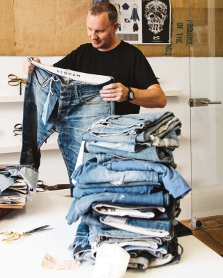 Recycle your DENHAM Jeans