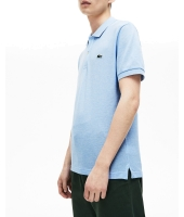 lacoste polo pique short sleeve slim fit